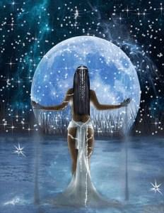 луна женщина43456789