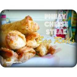 Riveting Philly Cheese Steak Egg Rolls Recipe Box Philly Cheesesteak Egg Rolls Baked Philly Cheesesteak Egg Rolls Diners Drive Ins Dives nice food Philly Cheesesteak Egg Rolls