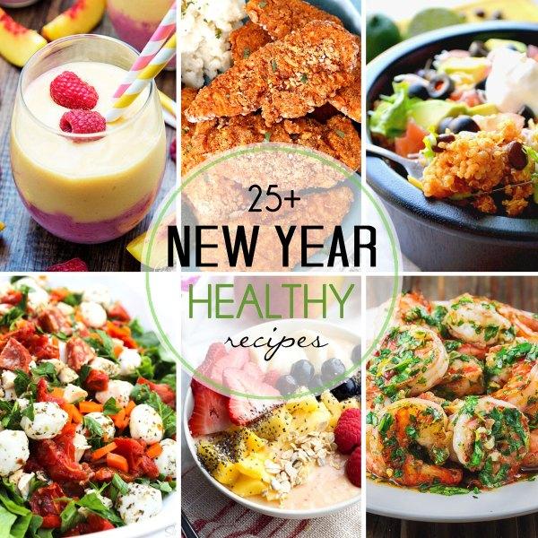 25+ New Year Healthy Recipes