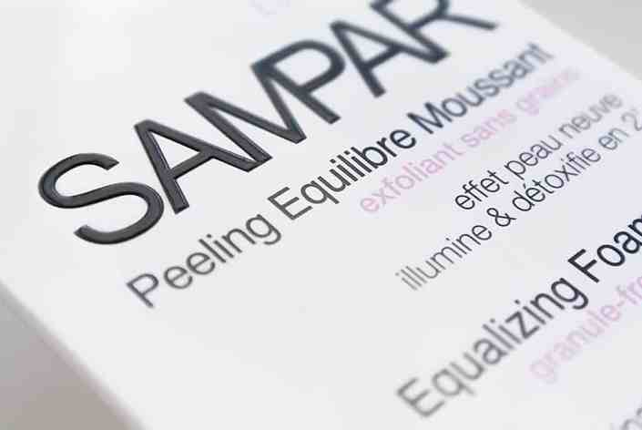 Sampar2 Sampar Equalizing Foam Peel