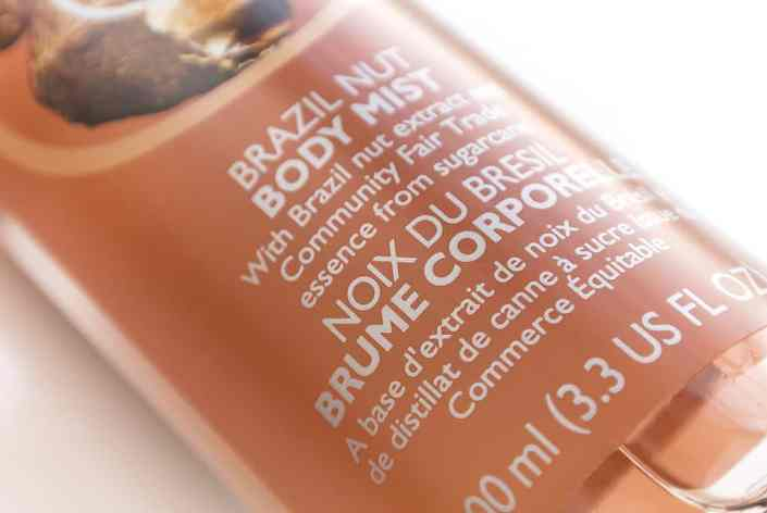 The Body Shop Brazil Nut 21 The Body Shop Brazil Nut: Its Back