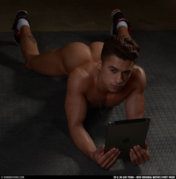 Landon Conrad fucks Armond Rizzo in So You Think You Can Fuck Season 4 from gay porn site Dominic Ford.