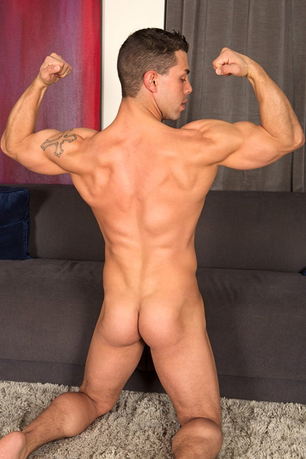 Roy for gay porn site Sean Cody.