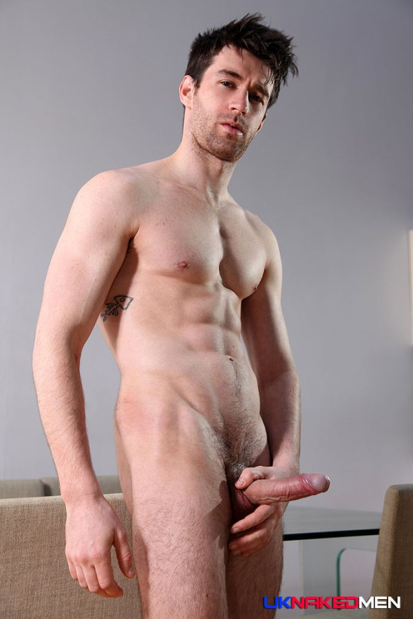 Woody Fox bottoms for Mateo Stanford in a gay porn scene for UK Naked Men.