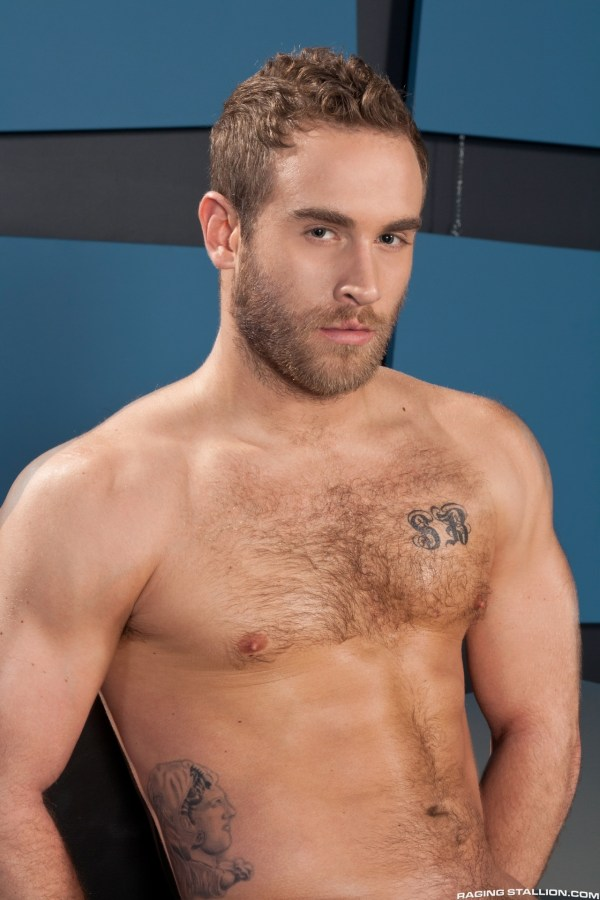 Lawson Kane fucks Shawn Wolfe in the gay porn film Want It Now by Raging Stallion.
