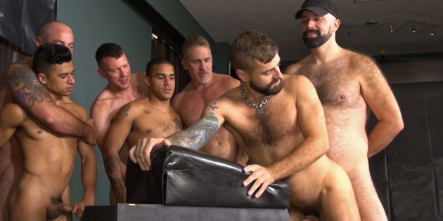 Let's Get Kinky: How Many Bareback Porn Stars Does It Take To Fuck ONE Cum Slut?