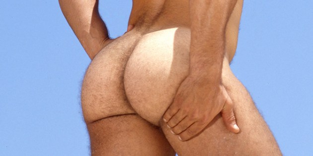 Flashback Friday: Tony Lombardy's Fuzzy Ass Cheeks Are A Dream Cum True