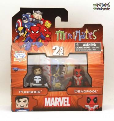 Diamond Select Deadpool Punisher Minimates