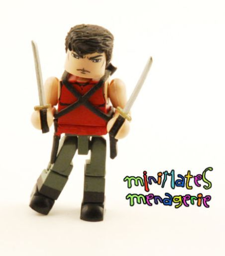 Diamond Select Deadpool X-Men Origins Minimates