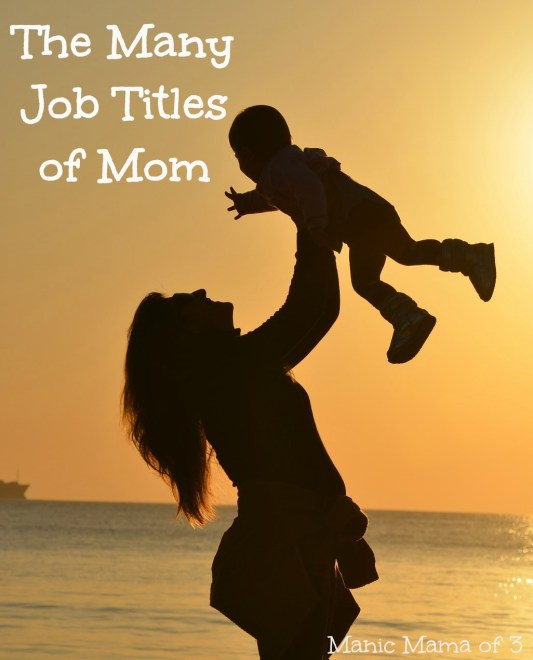 The Many Job Titles of Mom