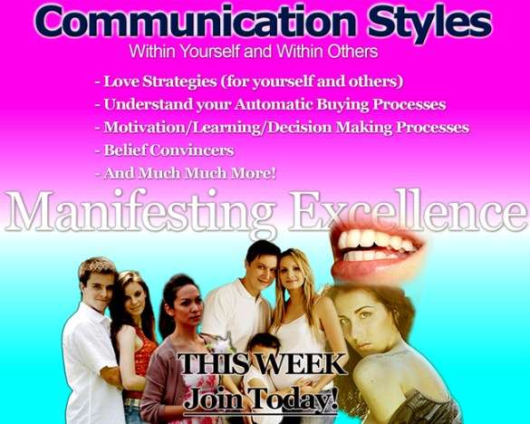 Love & Attraction Strategies, Communication Styles and Much More