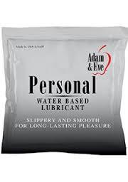 personal lube sachet
