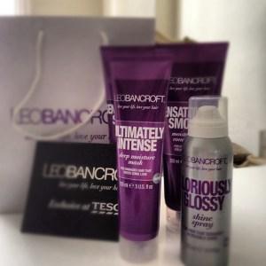 Leo Bancroft Hair Care Range for Tesco