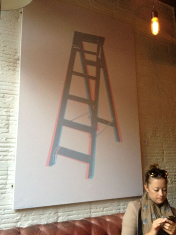 3D Stereoscopic Paintings by Jim Sharp at Graphic Bar Soho