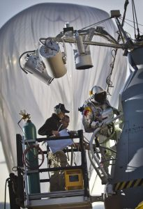 Red Bull Stratos Unveils Capsule for Felix Baumgartner