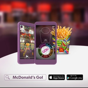McDonald's UK Launches New Fry Packaging Designs & Augmented Reality Trick-Shot App For FIFA World Cup