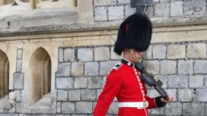 "A Right Royal Welcome to Windsor Castle & at ""18"" The Mercure Hotel"