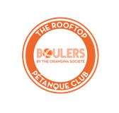 Boulers: roof-top Pétanque by Orangina