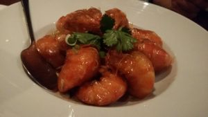 Marinated King Prawns in Shanghai Style