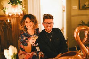 Anna Barnett hosts an Absolut Elyx Supper Club in aid of Water For People