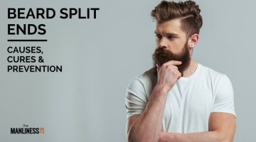 Beard Split Ends: What Are The Causes & Cures & How To Prevent It