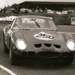 Mike Parkes, Ferrari GTO 250, Autosport 3 Hours, Snetterton 28.9.63