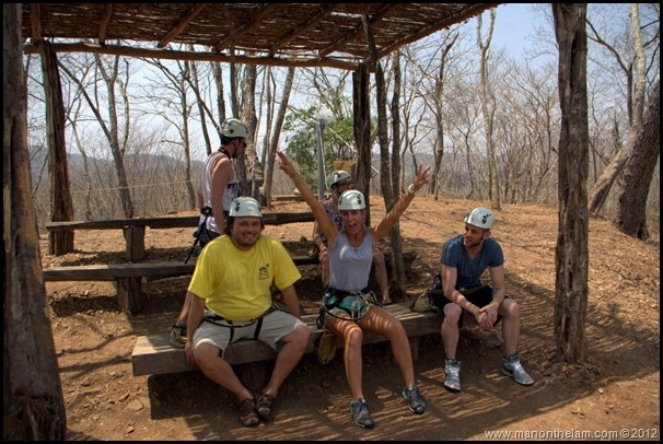 Briefing before zip wire tour -- Huana Coa Canopy Adventure Zip Line Tour, Mazatlan, Mexico, #GoMazatlanNow