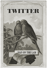 vintage twitter birds 1920s social media icon manonthelam