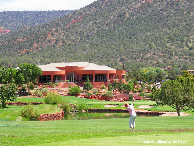 Golf in SEdona Arizona