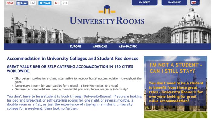 University Rooms