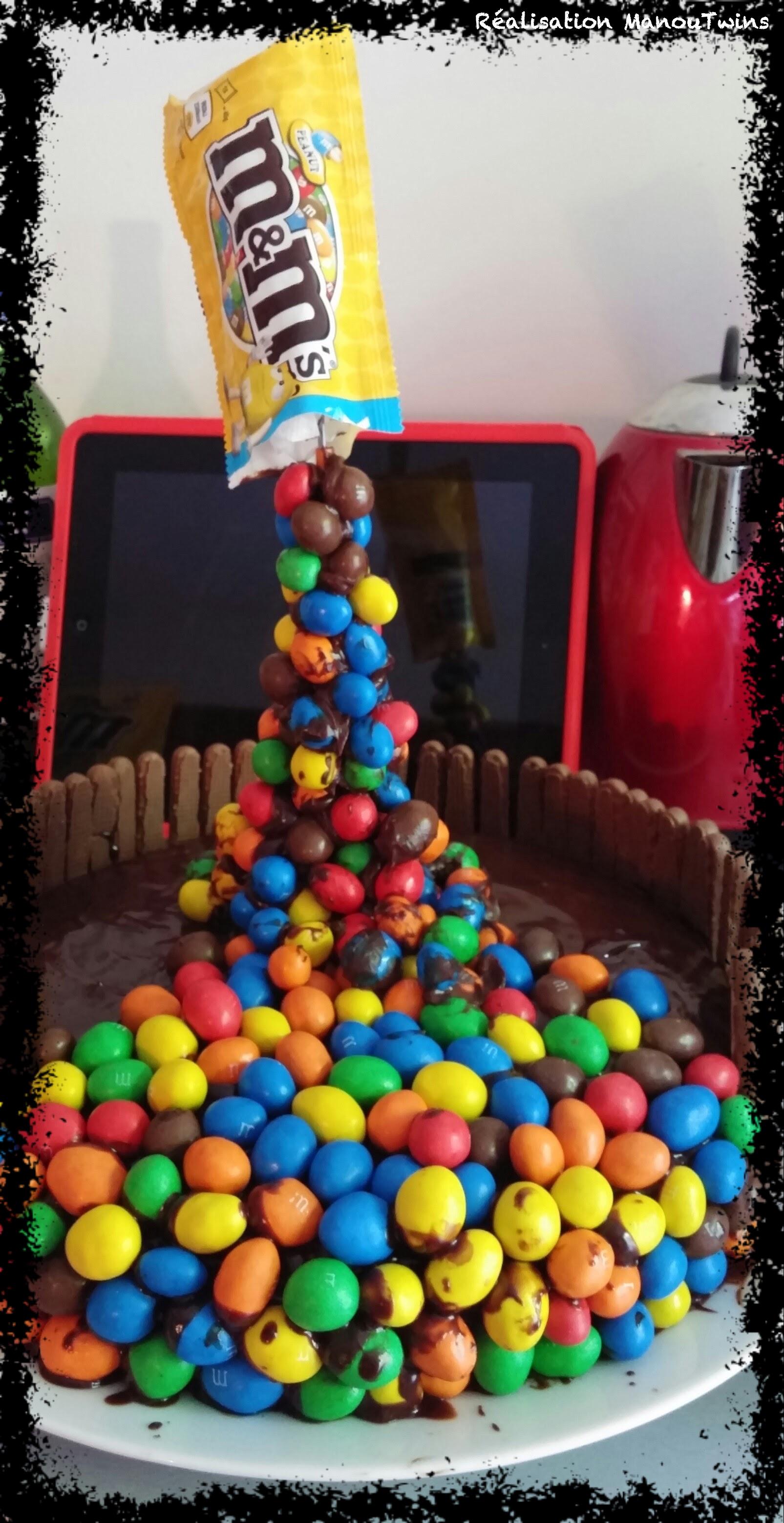 Le gravity cake ou le gâteau suspendu