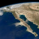 Baja California, Mexico. Courtesy of NASA