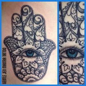 tattoo by Gentle Jen mantra