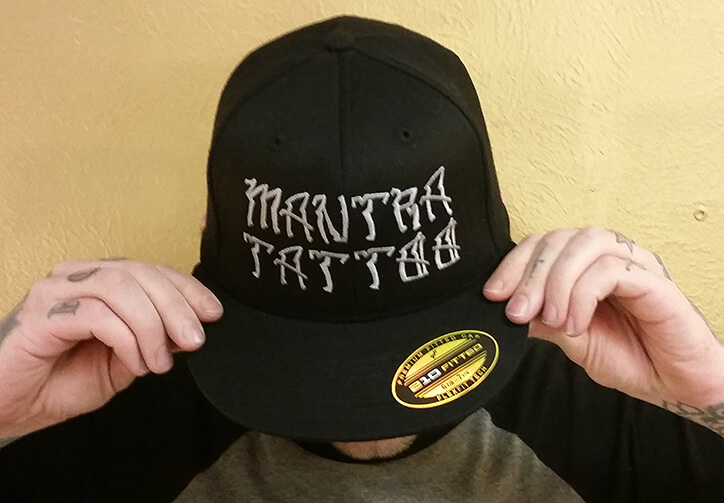 Mantra Tattoo Hat