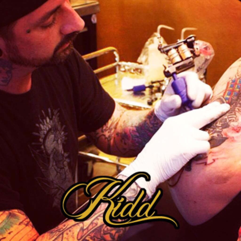 Timothy Kidd Snake, Tiger, & Dagger Tattoo Time Lapse Part 1
