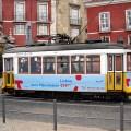 Bonde em Lisboa em Alfama