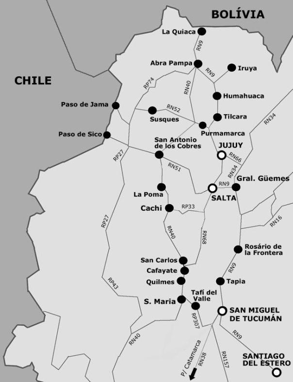 Noroeste da Argentina