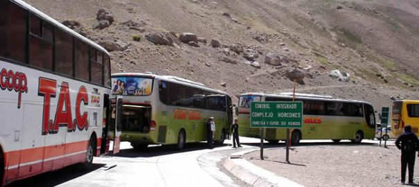 Transporte: ônibus no Chile
