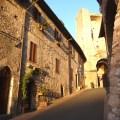 Rua em Assis, Itália