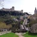 Spoleto, cidade medieval na Umbria, Itália
