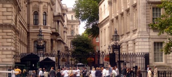 Downing Sreet, em Londres, Inglaterra