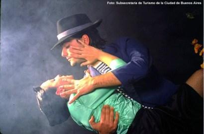 Espetáculo de tango, Buenos Aires, movimentos ousados