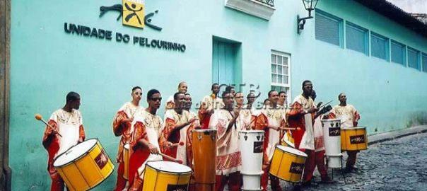 Banda de música no Pelourinho, Salvador