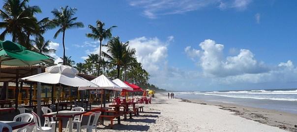Praia de Canavieiras, região de Ilhéus