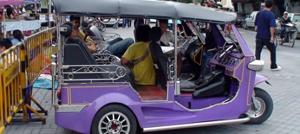 Tuk-Tuk em Bangkok