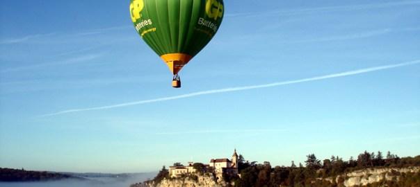Balão em Rocamadour