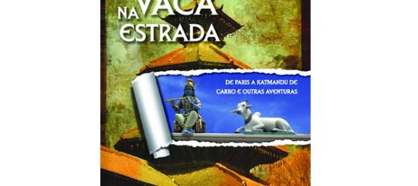"""Capa do livro """"A vaca na estrada"""""""