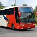 Ônibus empresa Pluma