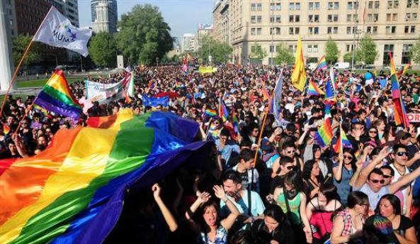Marcha Gay no Chile