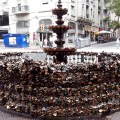 Fonte dos Cadeados, Montevidéu (Uruguai)